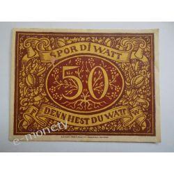Niemcy 75 Pfennig 1921 - dobry Pieniądz papierowy