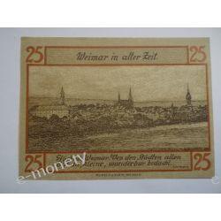 Niemcy 25 Pfennig 1921 - st. bdb. Pieniądz papierowy
