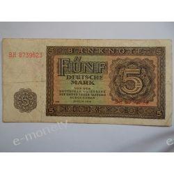 NRD  5 MAREK 1948 st.3 Pieniądz papierowy