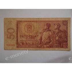 Czechosłowacja 50 KORON 1964 st.3 Pieniądz papierowy