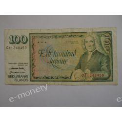 Islandia 100 KORON 1961 St.3 Pieniądz papierowy
