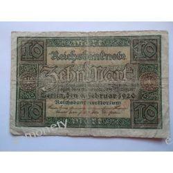 Niemcy 10 MAREK 1920 Pieniądz papierowy