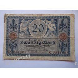 Niemcy 20 MAREK 1915