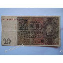 Niemcy 20 MAREK 1929
