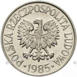50 groszy 1985 menniczy Monety groszowe