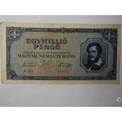 Węgry 1 000 000 PENGO 1945 Europa
