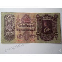Węgry 100 PENGO 1930 Pieniądz papierowy