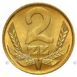 2 zł 1988 rok menniczy 1919 - 1939 złote