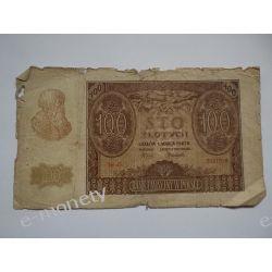 Polska 100 ZŁOTYCH 1940 s.III/IV Pieniądz papierowy