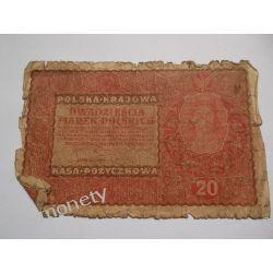 Polska 20 MAREK POLSKICH 1919 st. V Pieniądz papierowy