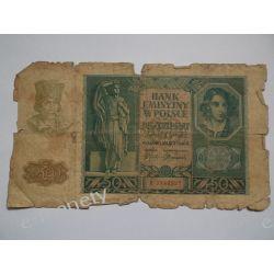 Polska 50 ZŁOTYCH 1940 s.IV Pieniądz papierowy