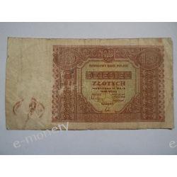 Polska 10 ZŁOTYCH 1946 s.III/IV Pieniądz papierowy