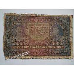 Polska 5000 MAREK POLSKICH st. IV/V Pieniądz papierowy