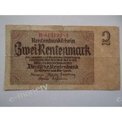 Niemcy 2 MARKI 1923 Pieniądz papierowy