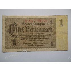 Niemcy 1 MARKA 1927 Pieniądz papierowy