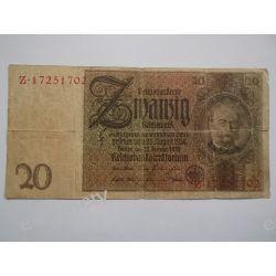 Niemcy 20 MAREK 1924 Pieniądz papierowy