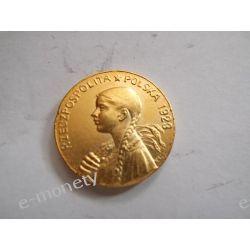 50 złotych 1923 Dziewczyna Numizmatyka
