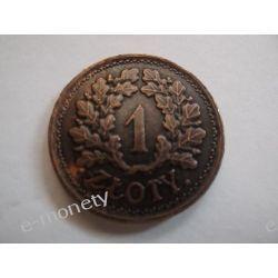 Polska 1 ZŁOTY 1928 DĄB Numizmatyka