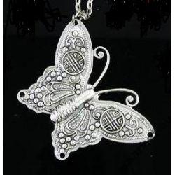 Oryginalny naszyjnik wisiorek motyl motylek