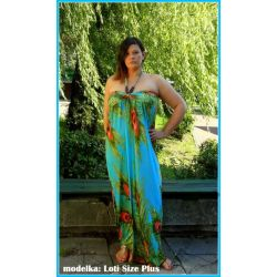 Letnia sukienka dla puszystej 44 46 48 2XL XXL