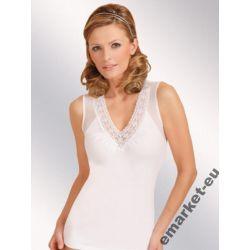 Koszulka top XXXL 3XL 50/52/54 dla puszystej biała
