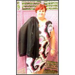 Letnia sukienka dla puszystej 50 52 3XL XXXL duża