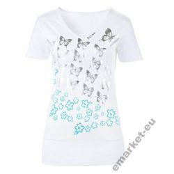 Bluzka dla puszystej 56 58 5XL 6XL t-shirt top
