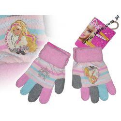Barbie rękawiczki 5-palczaste wełniane TANIO