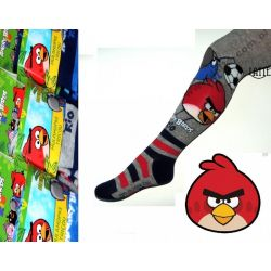 Angry Birds rajstopki rajtuzki szare 104-110cm