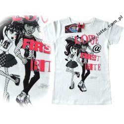 Monster High bluzka 146-152 cm Mattel BAWEŁNA