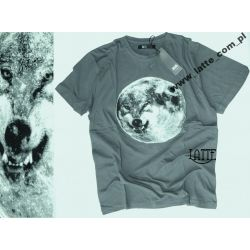 Wilk Grey Wolf T-shirt BAWEŁNA roz.M SFORA!!!