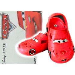 Cars 2 Auta Disney klapki crocsy 24-25 BASEN
