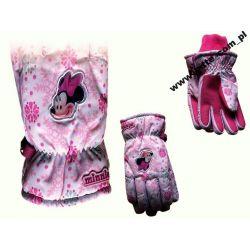 Minnie Mouse rękawiczki nieprzemakalne 7-8 lat