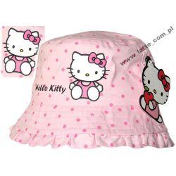 Hello Kitty kapelusik 52cm BAWEŁNA SANRIO