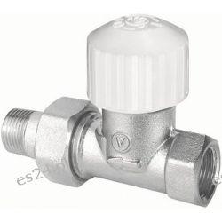 Zawór termostatyczny prosty VECTOR niklowany z ruchomą przysłoną FP15 typ ZT22