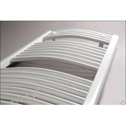 Grzejnik łazienkowy drabinkowy PBT 80x060 418W Onnline łukowy, (rozstaw podłączeń 551mm)
