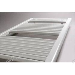 Grzejnik łazienkowy drabinkowy PB 120x060 598W Onnline prosty, (rozstaw podłączeń 556mm)