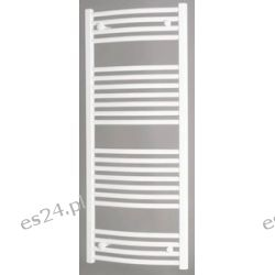Grzejnik łazienkowy drabinkowy PBT 80x050 358W Onnline łukowy, (rozstaw podłączeń 452mm)