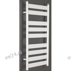 Grzejnik łazienkowy drabinkowy ART 500x1300 520W płaski Onnline, (rozstaw podłączeń 468mm)