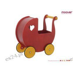 Effii. Moover wózek dla lalek - czerwony
