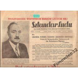 Sztandar Ludu 1.V.53 Stalin odezwa Bierut zdjęcie