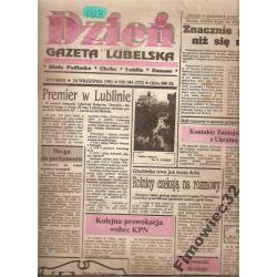 dzień GAZETA LUBELSKA 24.IX.1991gorzej niż sięmówi
