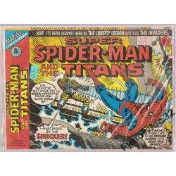 SUPER SPIDER -MEN  AND THE TITANS JAN. 5 ,1977