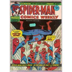 SPIDER -MEN No.87 JUNE 15,1974