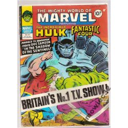 MARVEL THE INCREDIBLE HULK OCT  .25 , 1978