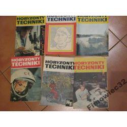 Horyzonty Techniki 1973 - 6 numerów