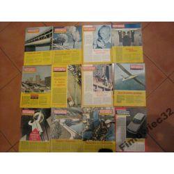 Horyzonty Techniki 1970 cały rocznik 12 numerów
