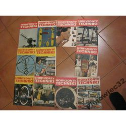 Horyzonty Techniki 1971 prawie rocznik 11 numerów
