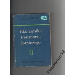 Ekonomika transportu lotniczego cz. 2 Kalestyński