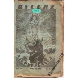 RYCERZ NIEPOKALANEJ 1/1936 z  misji w Japonii